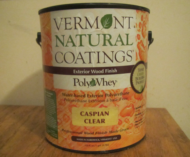PolyWhey Exterior Wood Finish by Vermont Natural Coatings